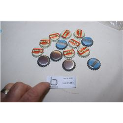 Pepsi and Crush Bottle Caps (Some Cork)