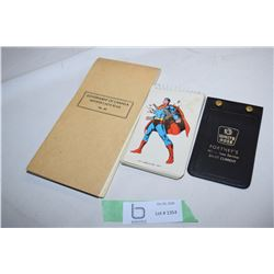 White Rose, Superman, GVT of Canada Notebooks
