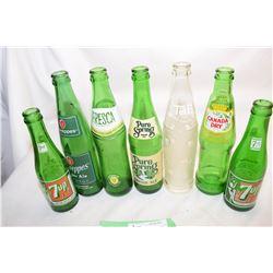 7 Soda Bottles