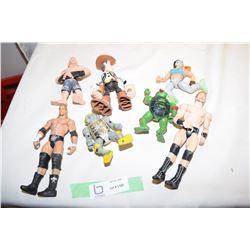 Wrestling, UFC, TMNT Figurines