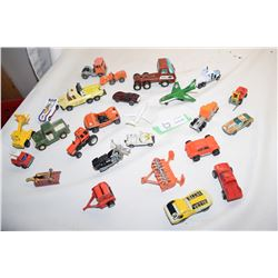 Die Cast and Plastic Toy Cars