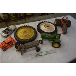 Pedal Tractor Wheels, Cast Tractor Parts and etc.