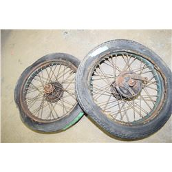 C. 1920s British Motorcycle Rims