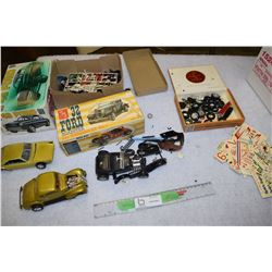 Antique 1960s Models 973 Scamp Some Decals