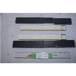 Antique Side Rulers
