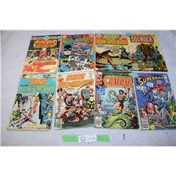 8 Super Hero 1970s Comics