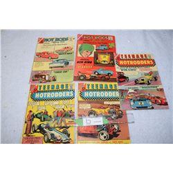 Early Hot Rod Comics