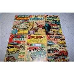Early 1960s Hot Rod Comics