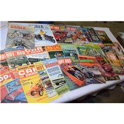 1960s Hot Rod Magazines