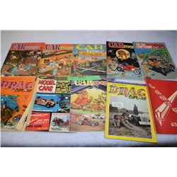 Hot Rod Cartoons and Bedford Road Yearbook