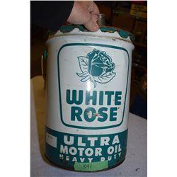 White Rose Ultra Oil Pail