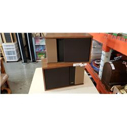 PAIR OF BOSE 301 SERIES 2 SPEAKERS