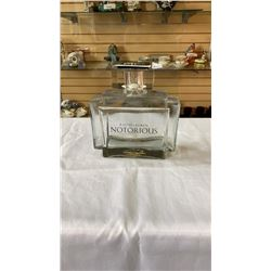 RALPH LAUREN NOTORIOUS STORE DISPLAY PERFUME BOTTLE APPROX 10 INCHES TALL