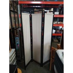 FABRIC 3 PANEL ROOM DIVIDER