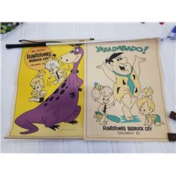 2 FLINTSTONES BEDROCK CITY CHILLIWACK BC VINTAGE ADVERTISEMENTS 1975