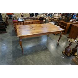 PINE COUNTRY STYLE DINING TABLE
