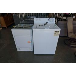 GE WASHER AND DRIER