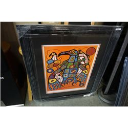 MAN CHANGING INTO THUNDERBIRD LEP BY NORVAL MORRISEAU 24925