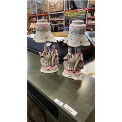 2 VICTORIAN STYLE FIGURE LAMPS