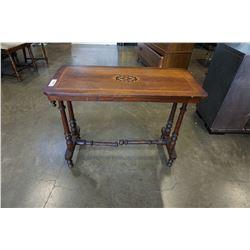 ANTIQUE SOFA TABLE - NEEDS REPAIR