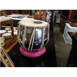 METAL BODY DRUM WITH STAND