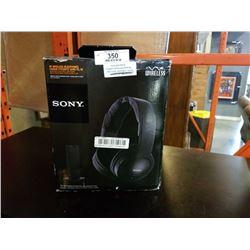 SONY WIRELESS HEADPHONES MODEL MDR-RF985RK