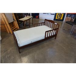 KIDS BED FRAME AND MATTRESS