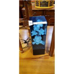 FIBEROPTIC FLOWER LAMP