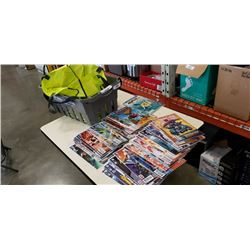 Approximately 110 collectible DC comics