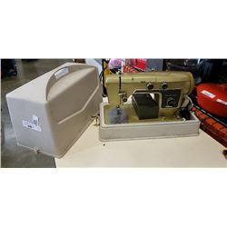 Vintage wards signature sewing machine