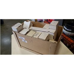 BOX OF SPORTS CARDS IN BOXES