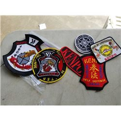 RARE LOT OF KENPO MARTIAL ARTS PATCHES - VALUED $200