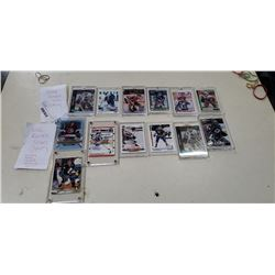 Lot of plastic cased NHL HOF and netminders