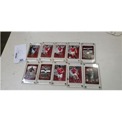 Lot of plastic cased MLS manchester united rookie cards