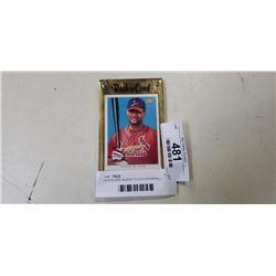 TOPPS 2002 ALBERT PUJOLS BASEBALL CARD TOPPS 206