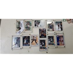 Lot of plastic cased NBA HOF and allstar cards including Kobe bryant and Micheal Jordan