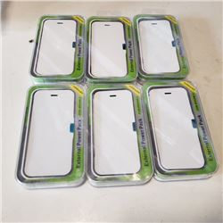 6 new 2200 mAH lightning charge external battery phone case