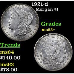 1921-d Morgan Dollar $1 Grades Select+ Unc