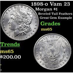 1898-o Vam 23 Morgan Dollar $1 Grades GEM Unc