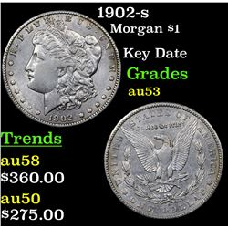 1902-s Morgan Dollar $1 Grades Select AU