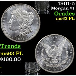 1901-o Morgan Dollar $1 Grades Select Unc PL