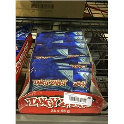 Tangy Zangy Twisties Sour Blue Raspberry(24 x 55g)
