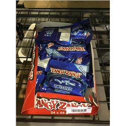 Tangy ZangyTwistiesSour Blue Raspberry
