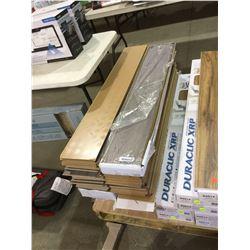 Lot of Plancher Laminate Flooring (12mm x 189mm x 1195mm)