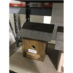 Wooden Birdhouse - Brown