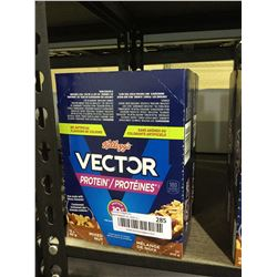 Kellog's Vector Mixed Nut Protein Bars (600g) Lot of 2
