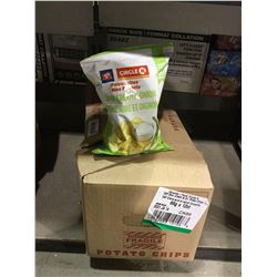 Case of Circle K Sour Cream and Onion Potato Chips