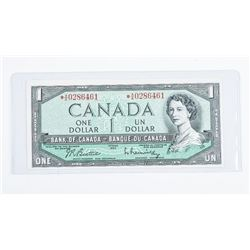 Bank of Canada 1954 * Replacement 1.00 (AA)  B/R GEM UNC