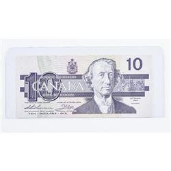 Bank of Canada 1989 10.00 (AEN) CHOICE UNC  BBX