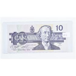 Bank of Canada 1989 10.00 Choice UNC BC57c  (BEG)
